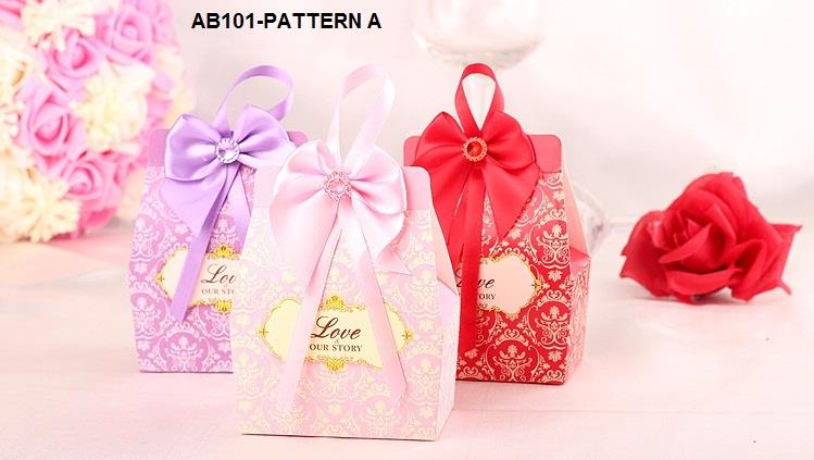 Wedding Gift Box Penang : AB101 Wedding Gift Box / Special Occasion Favor Box
