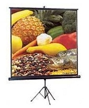 "AB84x84T 80"" x 80"" (7ft x 7ft) size; Tripod Screen (Portable and Folda.."