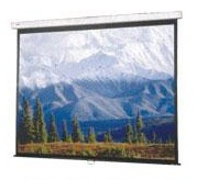 "AB84x84W 84"" x 84"" (7ft x 7ft) size; Manual Wall Screen (Pull Down)"