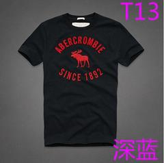 New Abercrombie AF 1892 T7 Fashion Summer Men T-shirt