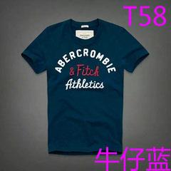 New Abercrombie & Fitch Athletics T12 Fashion Summer Men T-shirt