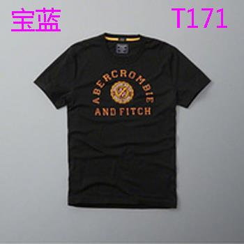 New Abercrombie and Fitch LOGO T21 Fashion Summer Men T-shirt