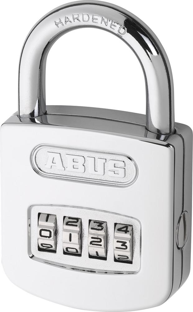 abus 160 50 4 digit combination keyless security padlock. Black Bedroom Furniture Sets. Home Design Ideas