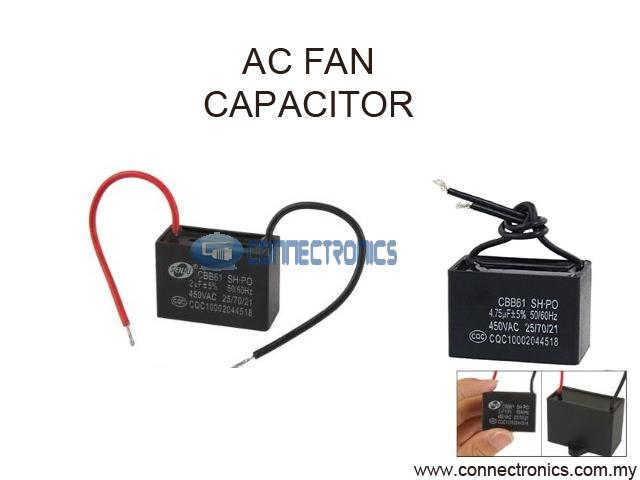Ac fan motor capacitor with wire con end 6 4 2015 2 59 pm for Motor for ac unit cost