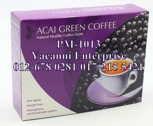 Acai Green Coffee � Natural Healthy Slimming Coffee (1 Box)