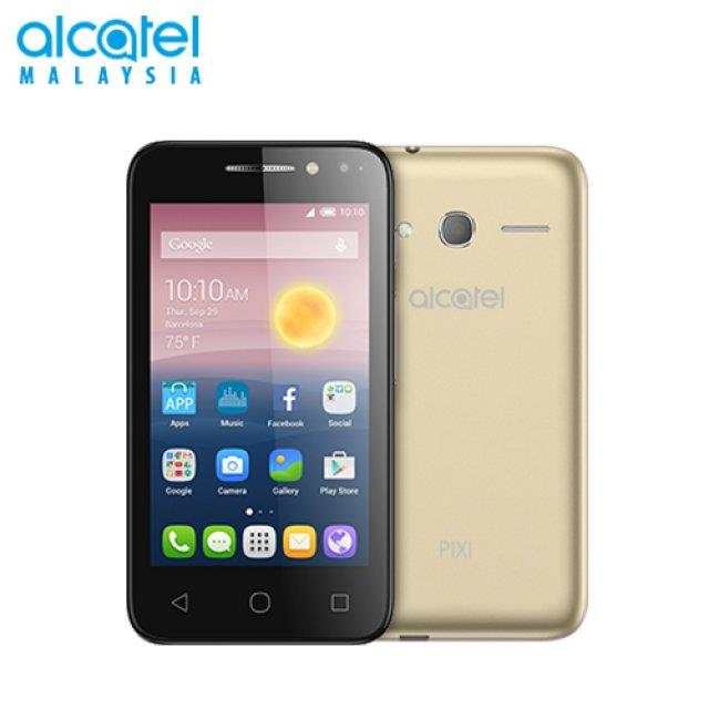 Acatel PIXI4 5.0 Inch , Android OS, v6.0 Marshmallow, WIFI (GOLD)