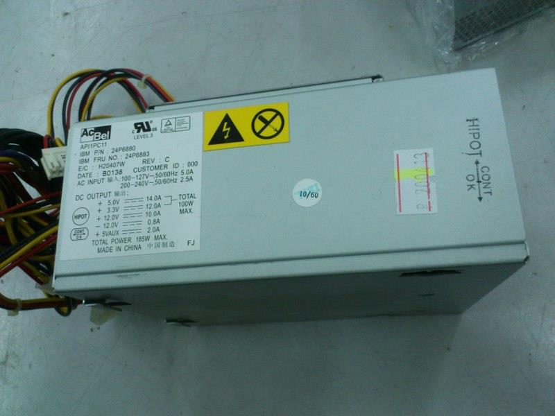 AcBel API1PC11 IBM P/N 24P6880 FUR NO 24P6883 Power Supply 280815