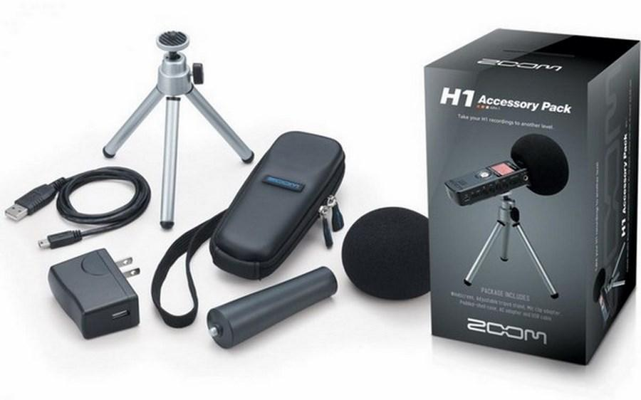 Accessories Pack For Zoom H1 Recorder - APH1