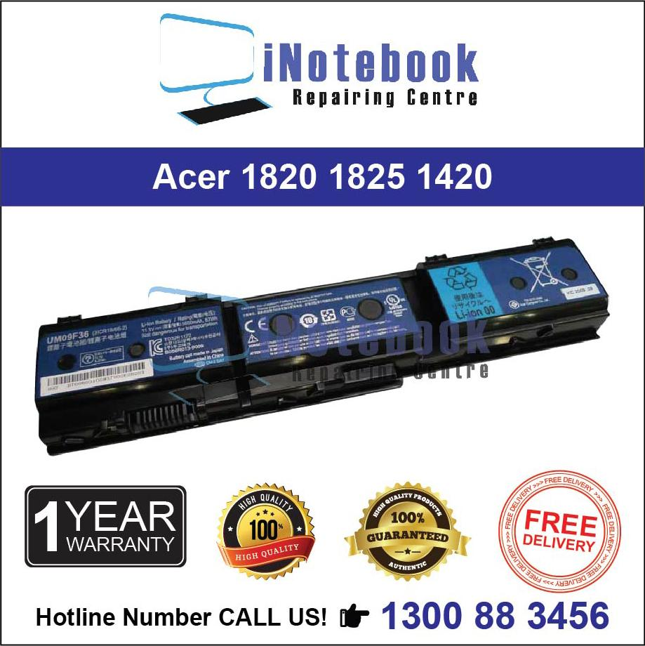 Acer 1825 1820 1420 - New Laptop Battery