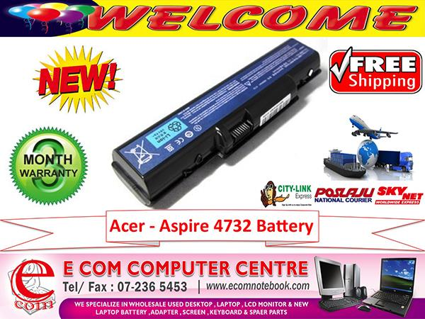 Acer 4732. eMachines D520.D525.D725.E430.E525.E625.E630.E725 BATTERY