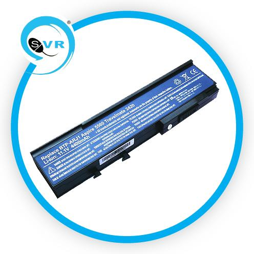 Acer Aspire 3620/3623/3628/5540/5541/5542/5550 Battery-1 Year Warranty