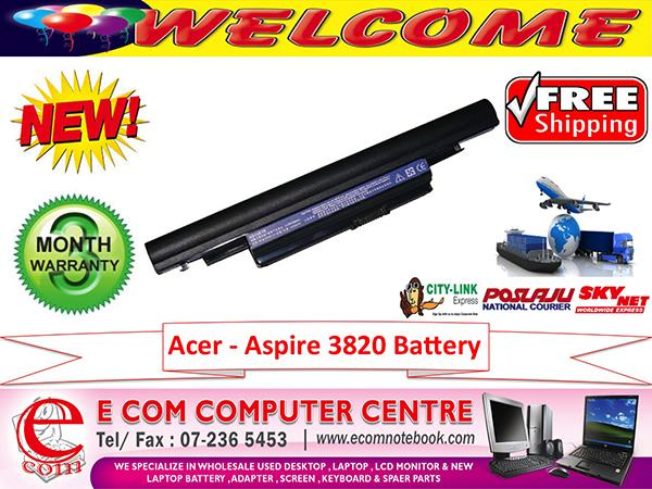 ACER ASPIRE 3820.4553.4745.4820.5820.5553 LAPTOP BATTERY