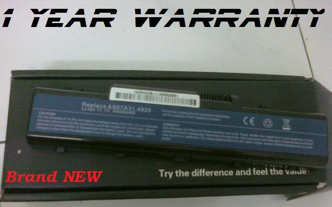 New Acer Aspire 4535 Series Laptop Battery 1 Year Warranty
