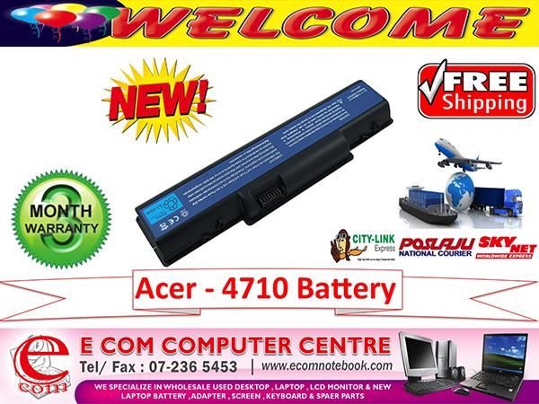 ACER ASPIRE 4710.4736.4520.4732.4310.4920 SERIES LAPTOP BATTERY