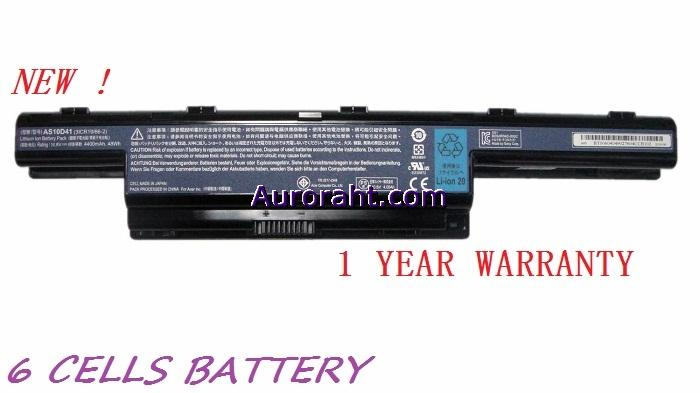 NEW Acer Aspire 4739 4739Z 4741 4750 4741G 4771 4749 Laptop Battery