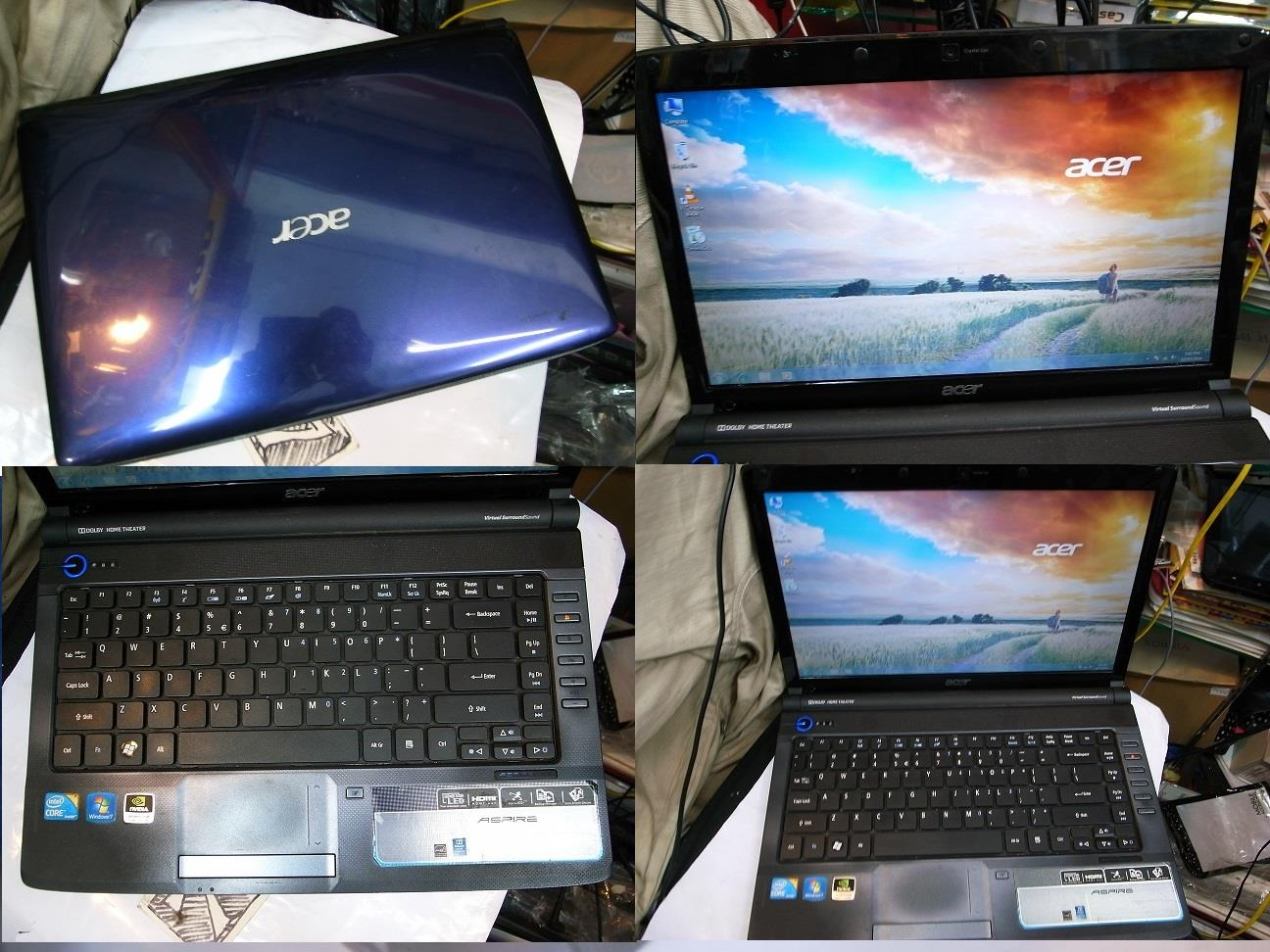 Acer Aspire 4740g i5 2.4GHz 500gb Geforce Laptop Notebook Rm890