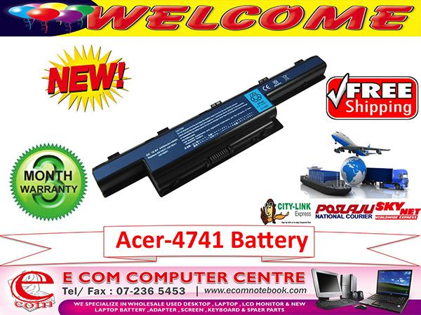 ACER ASPIRE 4741.4738.4750.4552.5741 SERIES LAPTOP BATTERY