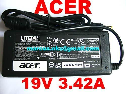 Acer Aspire 5030 3610 3000 1680 5580 5000 5510 Series AC Adapter