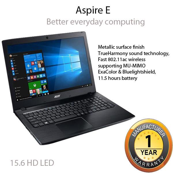 Acer Aspire E 15 E5-523G-96NN Notebook-Obsidian Black