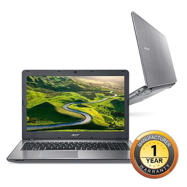 Acer Aspire F 15 F5-573G-75T4/749E Notebook-Sparkly Silver/Obsidian Bl