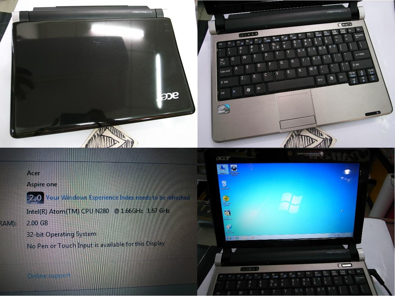Acer Aspire One D250 10.1  NetBook NoteBook Rm570