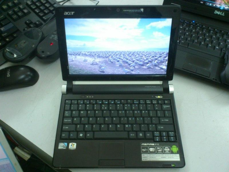 Acer Aspire One D250 Intel Atom N280 Netbook 110515