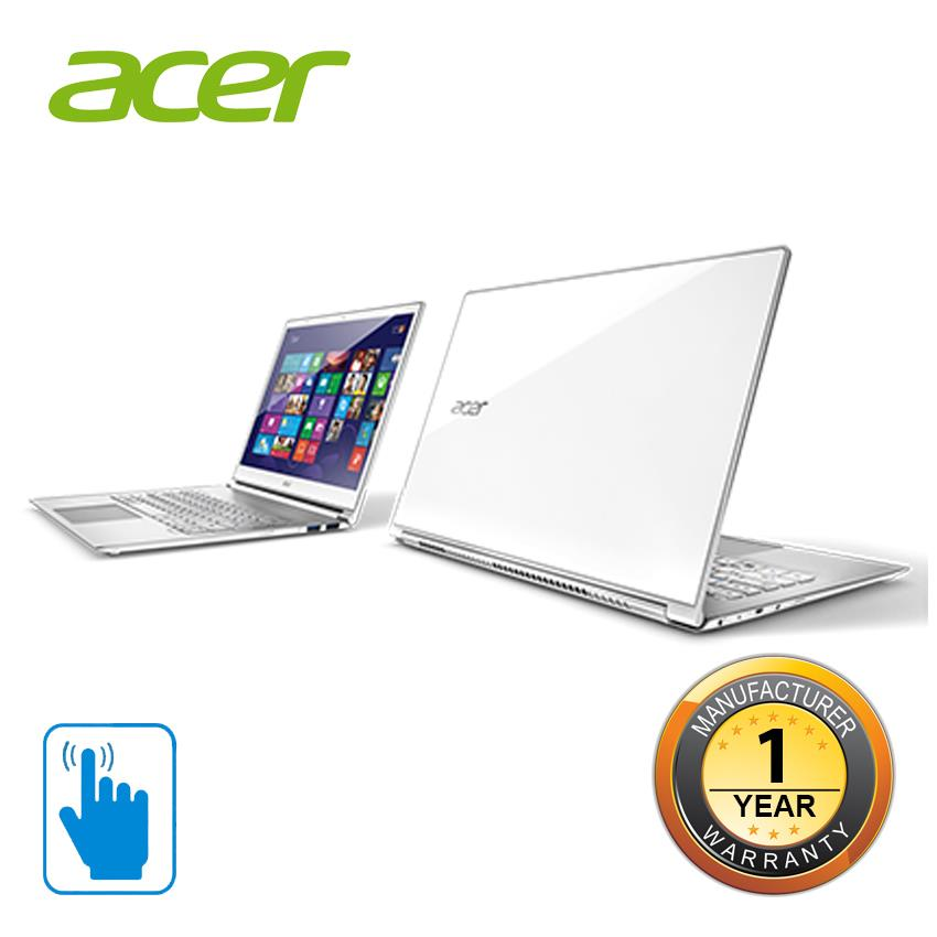 Acer Aspire S S7-393-55204G25 (i5/4GB/256GB/13.3'Touch) Notebook-White