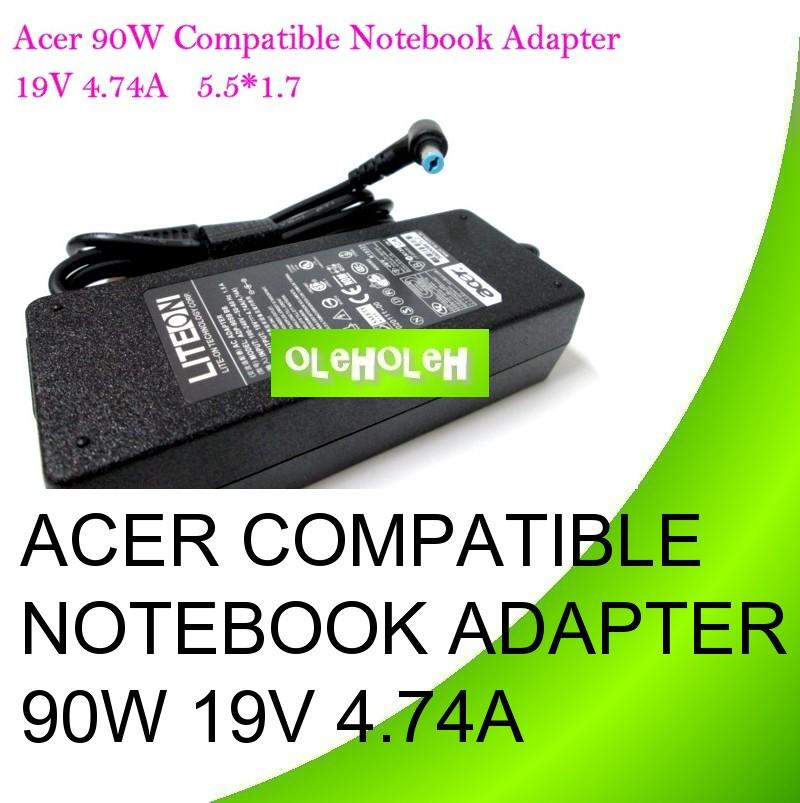 Acer Compatible Notebook Adapter 90W 19V 4.74A