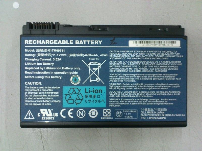 Acer Extensa 5630 Series Notebook Battery 240713