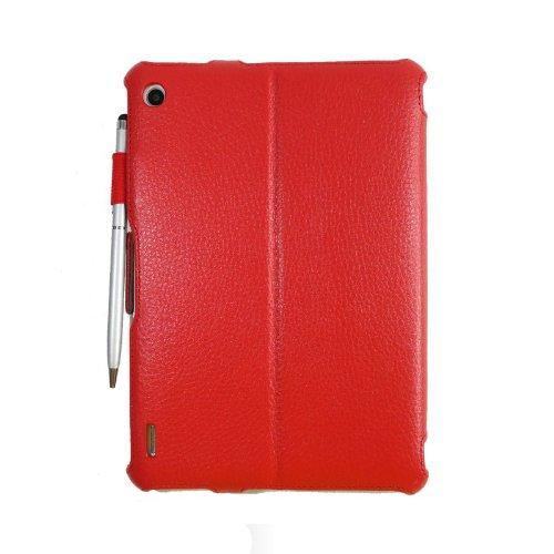 Acer Iconia A1-810 Premium Leather Case - Red