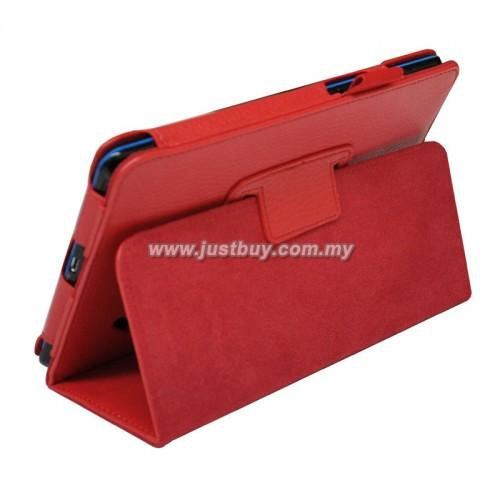 Acer Iconia B1-A71 Leather Case - Red