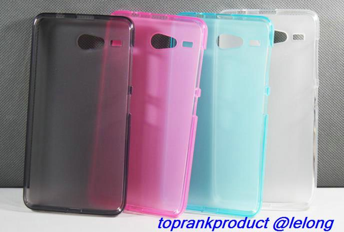 Acer Liquid Z520 Matte Transparent Silicone Soft Case Cover Casing