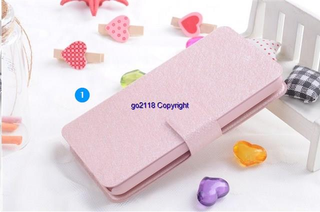Acer Liquid Z630S Silk Pattern PU Leather Flip Case Cover Casing