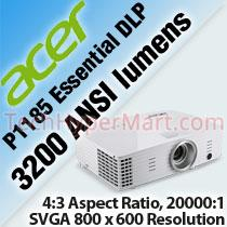 ACER P1185 ESSENTIAL DLP PROJECTOR