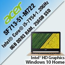 ACER Swift 7 SF713-51-M722 13.3' LAPTOP/ NOTEBOOK