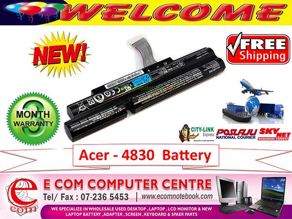 ACER TIMELINE X 3830.4830.5830 SERIES LAPTOP BATTERY