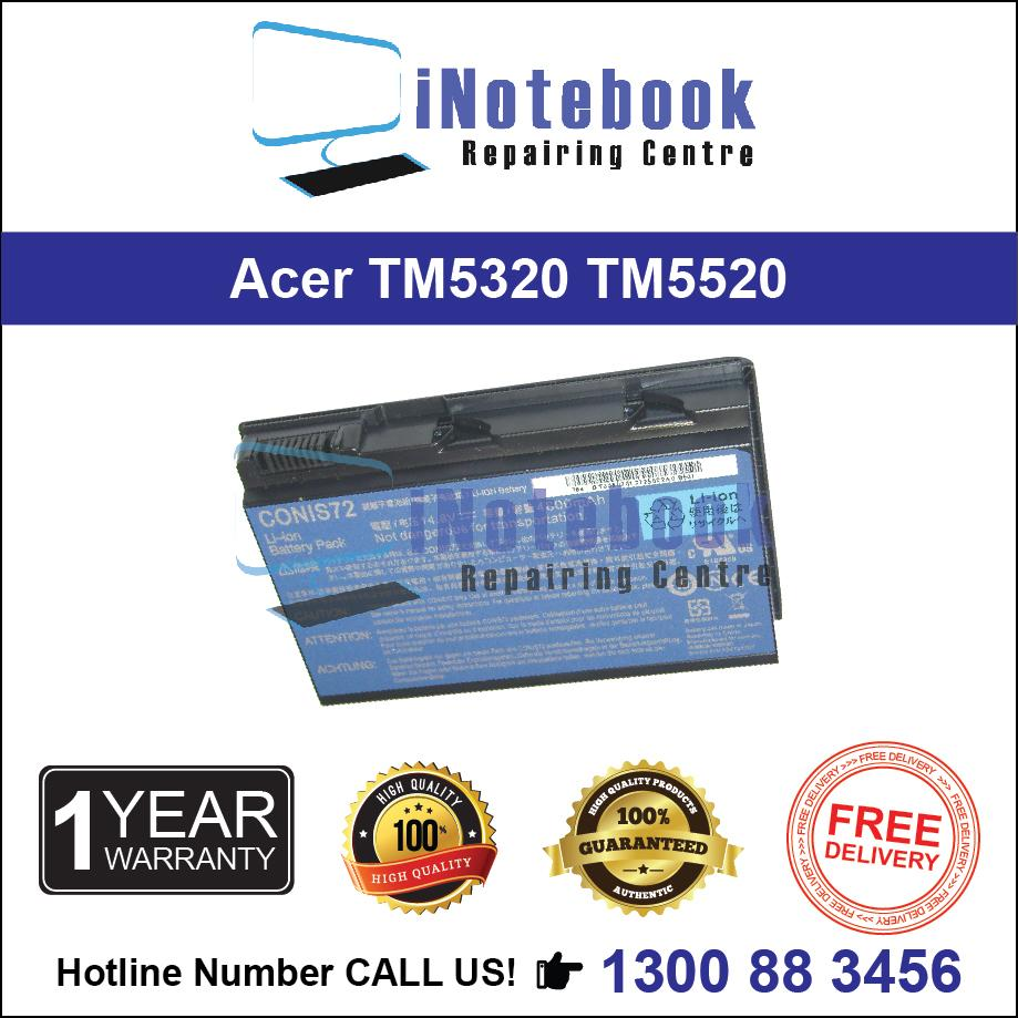 Acer TM5320 TM5520 - New Laptop Battery
