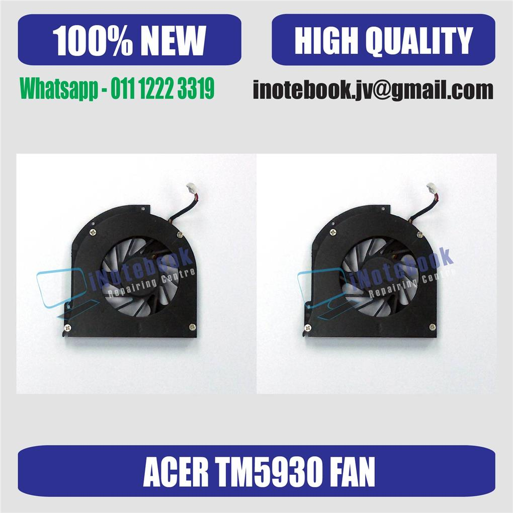 Acer Travel Mate 5930 Laptop CPU Cooling Fan