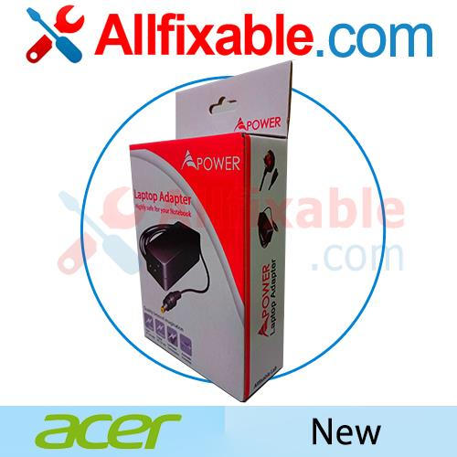 Acer Travelmate 206 207 208 209 65w notebook laptop adapter charger