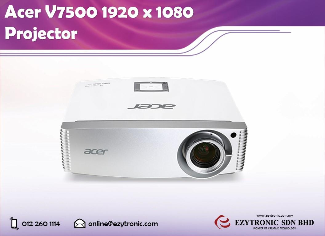 Acer V7500 1920 x 1080 Projector