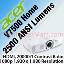 ACER V7500 HOME PROJECTOR