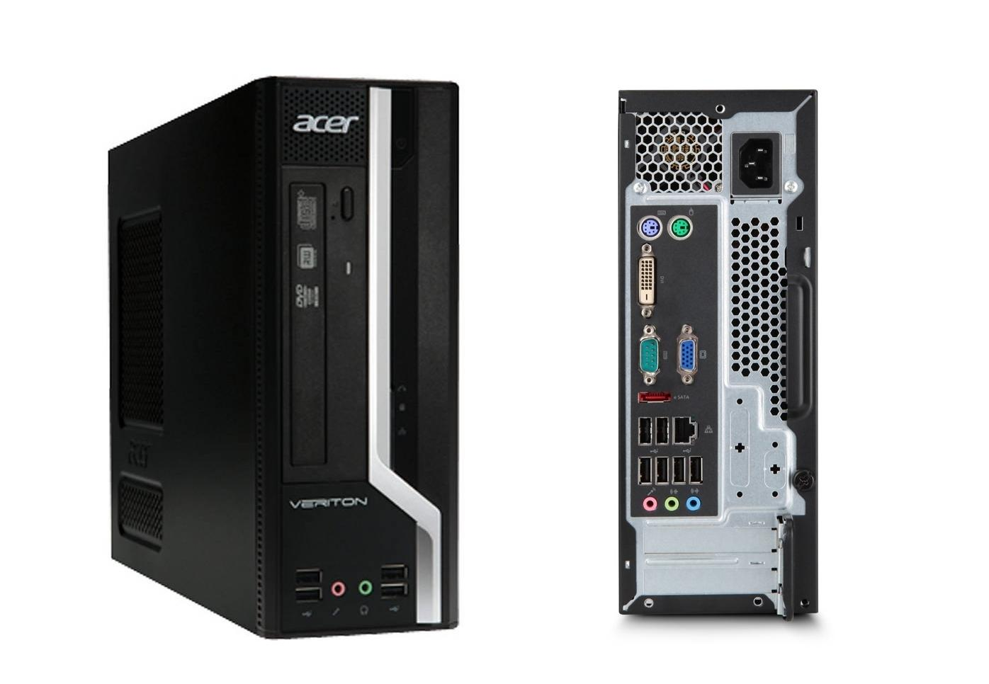 Acer veriton x680g core i5 desktop win 7 with 22 display 6 mth