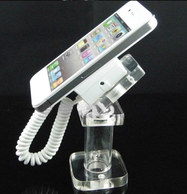 Acrylic Mobile Phone Retractable Security Display Holder+free gift