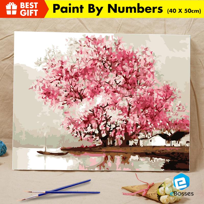 Acrylic Painting Drawing by Numbers 40cm X 50cm SAKURA