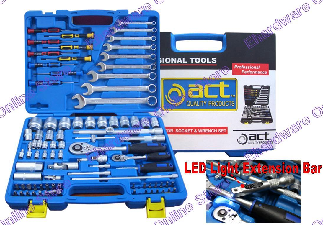 ACT 94PCS 1/2' & 1/4'DR SOCKET TOOLS SET (ACT-HS81201)