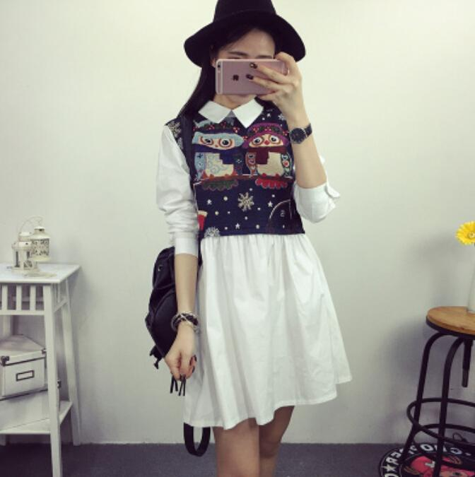 AD6998 Fashion Sweet Dress As Picture