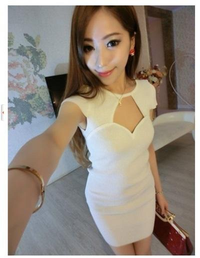 Ad8871 Sexy Body Hugging Dress