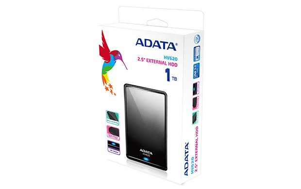 Adata 1TB HV620 2.5 Portable Hard Disk (Black)