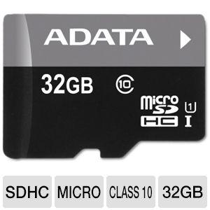 ADATA 32GB Micro SD Card Class 10 Memory Card