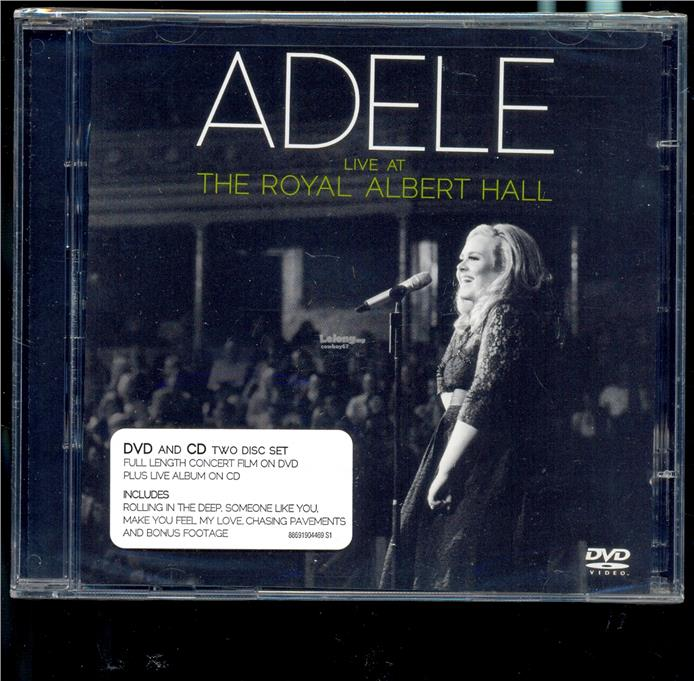 Adele Live At The Royal Albert Hall - New Live DVD